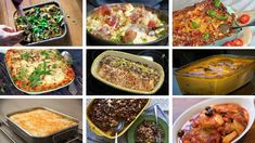 Middag i ildfast form Cooking Recipes, Meat, Dinner, Food, Dining, Food Recipes, Dinners, Meals, Recipes
