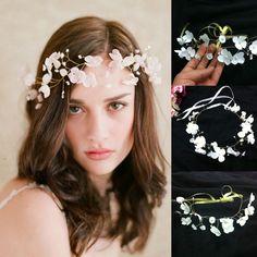 diademi nuziali pearl diamond usata marca fiori perline di cristallo a buon mercato nel trasporto libero wedding accessori capelli cPA097all'ingrosso