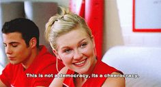 Year Released: In It: Kirsten Dunst, Gabrielle Union.In A Sentence: Kirsten Dunst becomes the head of her school's cheerleading squad and is very sassy. Sarah Rafferty, Bring It On Quotes, Movies Showing, Movies And Tv Shows, Teen Movies, Chick Flicks, Kirsten Dunst, Great Movies, Movie Quotes