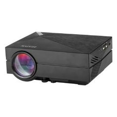 Ezapor Multimedia Mini LED Projector 800 Lumen Private Cinema ** Check this awesome product by going to the link at the image. Projector Reviews, Best Projector, Multimedia, Led Projektor, Theatre Games, Outdoor Projector, Game Black, Movie Dates, Portable House