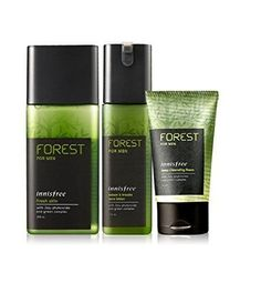 INNISFREE Forest For Men Fresh Set Of 3Item(skin+Lotion+Foam Cleanser)K-Beauty #INNISFREE