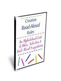 Subscribe to The Sunny Patch! Receive a free 14-page article - Creative Read-Aloud Rules: An Alphabetical List of Ideas, Activities & Read-Aloud Suggestions