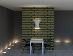 Επένδυση Τοίχου με Διακοσμητικά Πάνελ απομίμησης Τούβλου [Σειρά Bricks] Wall Lights, Lighting, Home Decor, Appliques, Decoration Home, Room Decor, Lights, Home Interior Design, Lightning