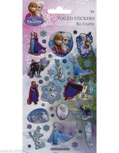 Paper Projects Disney Frozen High Quality Foiled Craft Stickers Age 3 + in… Kids Playhouse Plans, Frozen Merchandise, Disney Frozen 2, Craft Stickers, Age 3, Paper, Creative, Cute, Projects