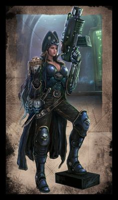 Warhammer 40k - Rogue Trader - Lorayne by TheFirstAngel on DeviantArt