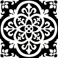 FloorPops x Black Peel and Stick Vinyl Tile at Lowe's. Make a statement with these bold black and white floor tiles. The gothic-style motif is simply stunning. Gothic Peel and Stick Floor Tiles Set contains 20 Peel And Stick Floor, Peel And Stick Vinyl, Stick On Tiles Floor, Luxury Vinyl Tile, Luxury Vinyl Plank, Adhesive Floor Tiles, Vinyl Tile Flooring, Hall Flooring, Modern Flooring