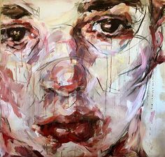 Elly Smallwood - Endings Portraits, Portrait Art, Elly Smallwood, Art Studio Design, Cool Paintings, New Artists, Art Sketchbook, Art Inspo, Art Reference