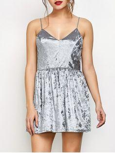 GET $50 NOW   Join RoseGal: Get YOUR $50 NOW!http://www.rosegal.com/club-dresses/velvet-criss-cross-backless-dress-982383.html?seid=1039733rg982383