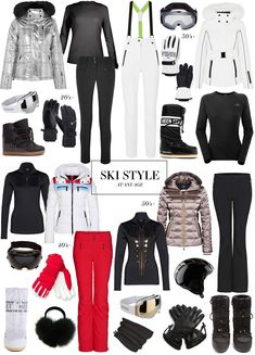 2018 Chic Ski Style At Any Age | Bogner, Topshop Sno, Moon Boots