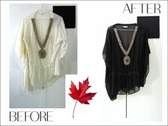 It's official.it's summer! Be beach ready with a 'new' cover up. Suntan lotion stains be gone with DYE IT BLACK Happy Canada Day, Suntan Lotion, Beach Ready, Tassel Necklace, Cover Up, Stains, Summer, Black, Fashion