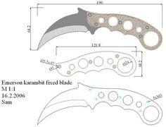 Чертежи ножей для изготовления. Часть 2 Cool Knives, Knives And Swords, Karambit Knife Tactical, Knife Drawing, Knife Template, Knife Making Tools, Trench Knife, Hand Forged Knife, Knife Patterns