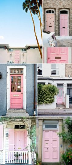 I want a pink door on my house when im older <3
