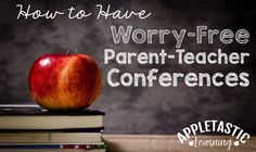 Parent-Teacher Conferences do not need to be stressful, but for many teachers (and parents, too) they are. Will I say the right things? How do I start the conference? How do I tell a parent I&#8217…