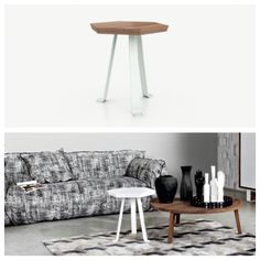 Gervasoni, project by Paola Navone: Sweet 41 side table.