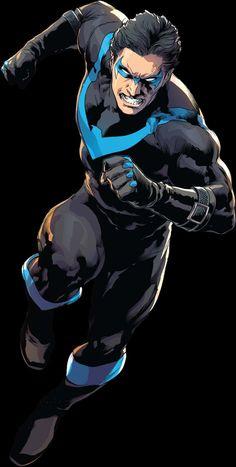 Comic Books Art, Comic Art, Nightwing Wallpaper, Justice League Characters, Crime Comics, Son Of Batman, Arte Dc Comics, Superhero Design, Animation Reference