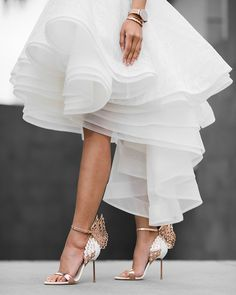 Sophia Webster, Bridal Skirts, Bridal Gowns, Butterfly Heels, Full Gown, Types Of Gowns, Micah Gianneli, Wedding Dress Trends, Bridal Fashion Week