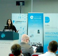 [CITYOS SMART DUBROVNIK HACKATON 2016]  Tea Zakula talk about Smart Buildings for Smart Cities Conference and worskshops are finished. We are waiting you next weekend on 48 hours hacakaton (15-17 April). http://ift.tt/1YflJQM #futura #Arduino #robotika #robotics #robocup #robots #radionice #workshops #unidu #ArduinoUno #stem #engineering #developers #engineers #iot #genuino #3Dprint #3Dprinter #3Dprinting #programmers #hackers #makers #drone #iOS #Swift #design #hydroponics #cityos…