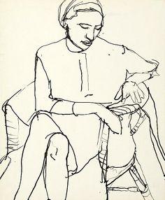 RICHARD DIEBENKORN / Untitled, ca. 1960-68