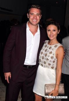 Billy and Chloe (Billy Miller and Elizabeth Hendrickson)