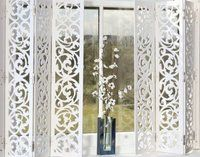 ** I simply LOVE this! Fancy - shutters