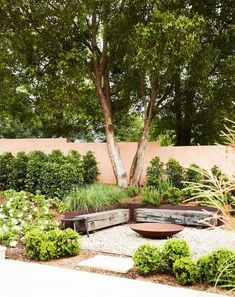 Before you roll up your sleeves this weekend, take some inspiration from 20 of the most beautiful gardens from Australian House & Garden magazine. Backyard Garden Design, Garden Landscape Design, Small Garden Design, Backyard Landscaping, Landscape Plans, Landscaping Ideas, Garden Fire Pit, Fire Pit Backyard, Outdoor Fire Pits