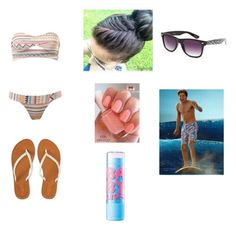 """""""Beach with Niall"""" by musicweirdo16 ❤ liked on Polyvore"""
