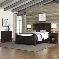Prairie Panel 4 Piece Bedroom Set