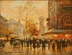 Caf de la Paix, Paris - Edouard Cortes