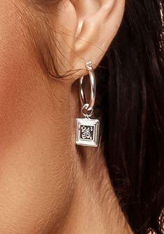 Silver Hoop Earrings, Drop Earrings, Jewellery, Jewels, Schmuck, Drop Earring, Jewelry Shop, Jewlery, Jewelery