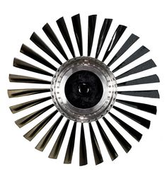 Jet Engine, could be a great ceiling fan..., Design Exchange, Toronto, Ontario, Canada, Photo Roberto Portolese