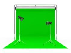 Green-screen technology allows movie makers to place actors in fantastic…
