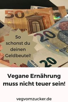 Vegane Ernährung muss nicht teuer sein: So schonst du deinen Geldbeutel! Vegan Food, Vegan Recipes, Fitness, Plants, Dinner With Friends, No Sugar Diet, Most Expensive, Feel Better, Home Remedies