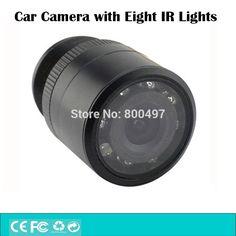 Универсальный Мини Ночного Видения Цвета Обратный Резервный Автомобильная Камера Заднего вида 28 мм 480 ТВЛ 170 Градусов Водонепроницаемый IP67 для Всех Автомобилей