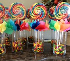 Rainbow Centerpiece used for the party tables. very easy to make. Rainbow Centerpiece used for the party tables. very easy to make. Trolls Birthday Party, Rainbow Birthday Party, Carnival Birthday Parties, Birthday Party Themes, Troll Party, Rainbow Parties, Birthday Ideas, 4th Birthday, Rainbow Theme