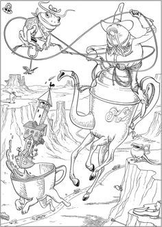 Image result for free dan piraro coloring page