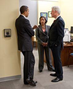 POTUS, Ambassador Rice & Frmr President Clinton