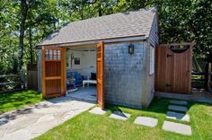 Small Pool Houses Pools Guest Fencing Cabana Swimming Bedrooms Shed Trellis Fence