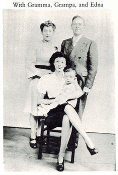 Esther Manilow, Joseph Manilow, Edna Manilow Pincus and Barry Alan Pincus.