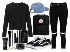 """play off of it"" by velvet-ears ❤ liked on Polyvore featuring Boohoo, NARS Cosmetics, Made, Monki, Fjällräven, Givenchy and Koh Gen Do"
