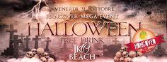HANGOVER HALLOWEEN – JKO BEACH – CAGLIARI – VENERDI 31 OTTOBRE 2014
