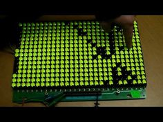Reverse engineering a flip dot sign - YouTube