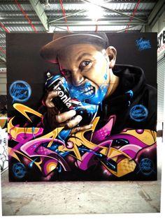 SMUG ONE http://www.widewalls.ch/artist/smug/ #streetart #graffiti