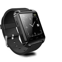 SONTIGA Touch Screen Smart Watch with Camera, Sim/Memory Card Slot, Pedometer Compatible with All iOS and Android Phones(U8 Black) #smartwatch #electronics #sontiga #onlineshopping #BestKartOnline Wrist Watches, Watches For Men, Camera Watch, Couple Watch, Android Phones, Smartwatch, Seiko, Digital Watch, Casio