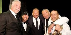 Kevin Nash, X-Pac Sean Waltman, Triple H, Scott Hall Razor Ramon & HBK Shawn Michaels #Kliq #WWE #Power