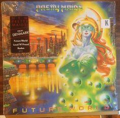 "Pretty Maids / Future World / Shrink / Lyrics / Near Mint / RARE / 12"" Vinyl LP Record #PrettyMaids #Denmark #MetalMusic"