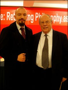 Thorsten Pattberg with William McBride, President of the International Federation of Philosophical Societies, FISP. The 23rd World Congress of Philosophy will be held August 4-10, 2013 in Athens.