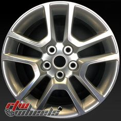 """Chevy Malibu wheels for sale 2013-2014. 17"""" Machined Silver rims 5559 - http://www.rtwwheels.com/store/shop/17-chevy-malibu-wheels-for-sale-machined-silver-5559/"""