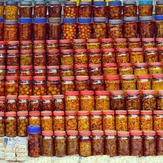 Assortment of #pickles for sale at a dhaba on the way to #Shillong  Pickles have been an integral part of the #indiancuisine. However the pickles of the #northeastindia are quite different from the ones toy may but at a store. They make use of various meat vegetables and specific herbs to make these fascinating and distinctive pickles.  Unique #flavours & #delicacies from across the NorthEastern states include favourites like ghost #chili #bamboo shoot dried #fishes #garlic & #pork pickles…
