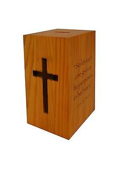 Wood collection #donation box church #offering coin collection #fundraisinpiggyba,  View more on the LINK: http://www.zeppy.io/product/gb/2/301795871712/