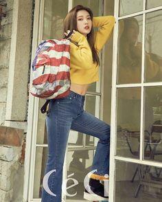 Red Velvet's Joy & Irene for Ceci Korea February Irene Photoshoot, Red Velvet Photoshoot, Seulgi, Park Sooyoung, Neo Soul, Red Velvet Joy, Red Velvet Irene, Velvet Style, American School Girl